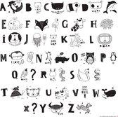 A Little Lovely Company - Symbolen set ABC voor de Lightbox