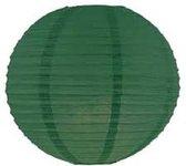 5 stuks lampion donker groen 35 cm