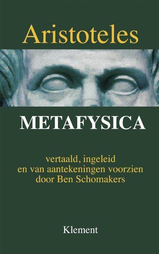 Boek cover Metafysica van Aristoteles (Hardcover)
