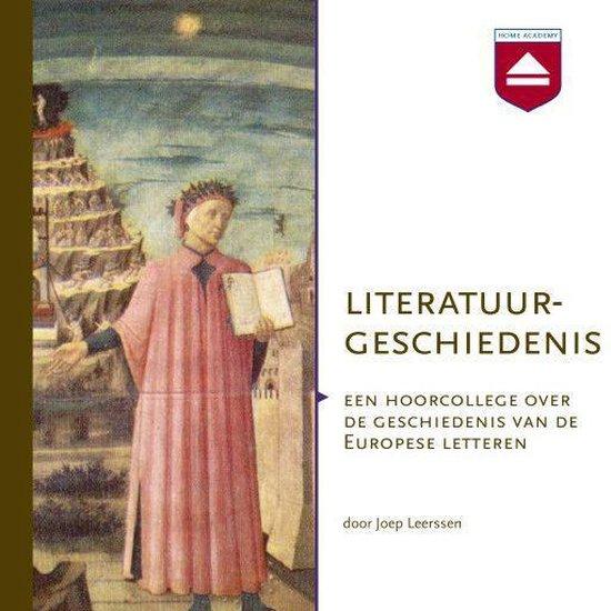 Boek cover Literatuurgeschiedenis van Joep Leerssen (Onbekend)