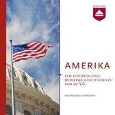 Boek cover Amerika van Maarten van Rossem
