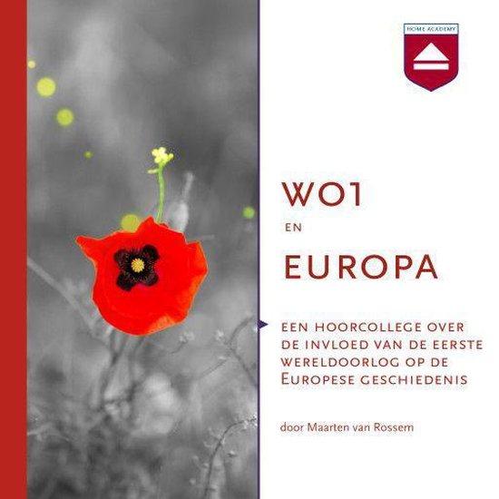 Boek cover WO1 en Europa van Maarten van Rossem (Onbekend)