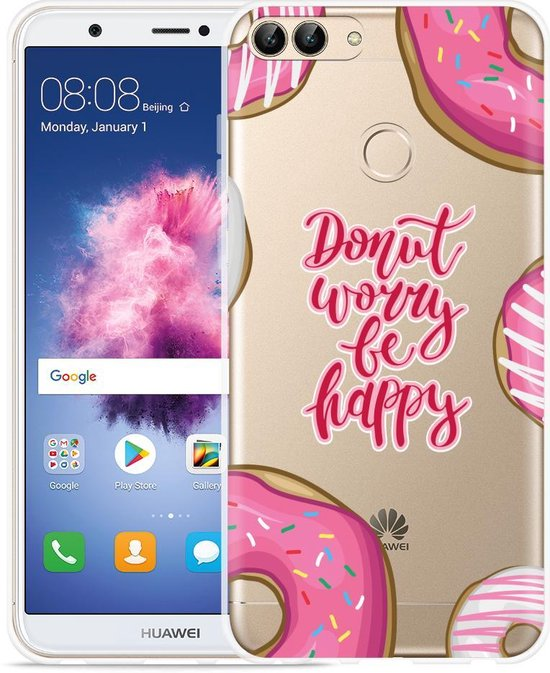 Huawei P Smart Hoesje Donut Worry