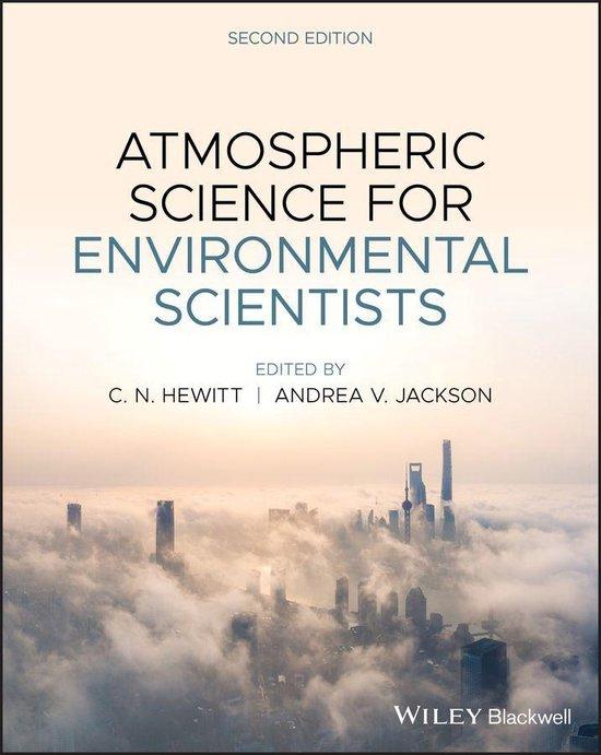 Boek cover Atmospheric Science for Environmental Scientists van  (Onbekend)