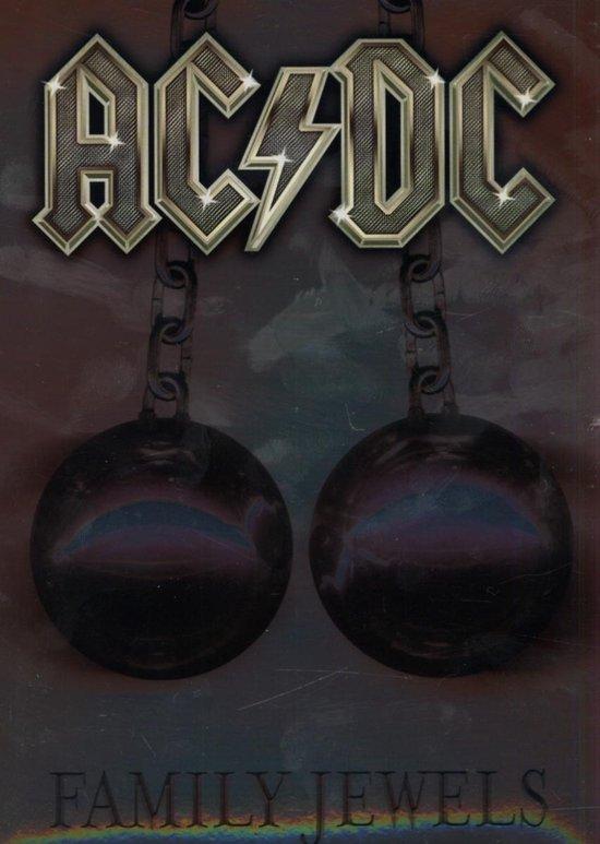 Cover van de film 'AC/DC - Family Jewels'