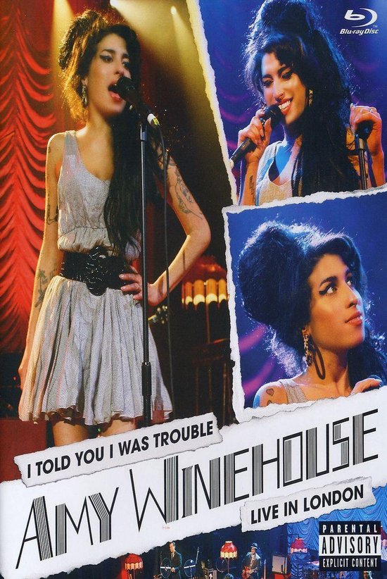 Cover van de film 'Amy Winehouse - I Told You I Was Trouble -  Live in London'