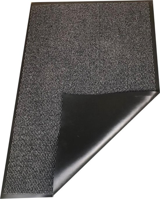 Deurmat Nassau - antraciet - 60 x 80 cm - Carpe mathique