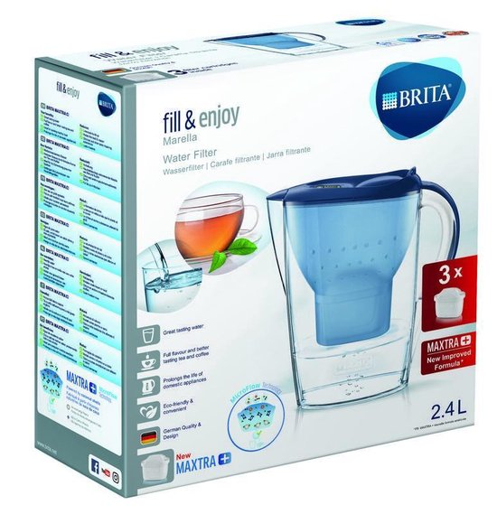 BRITA fill&enjoy Marella Cool Blue Promopack - BRITA