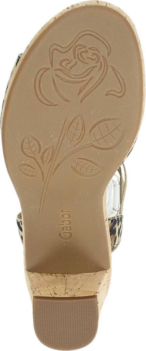 Gabor dames sandaal - Beige multi - Maat 41 p0NO8
