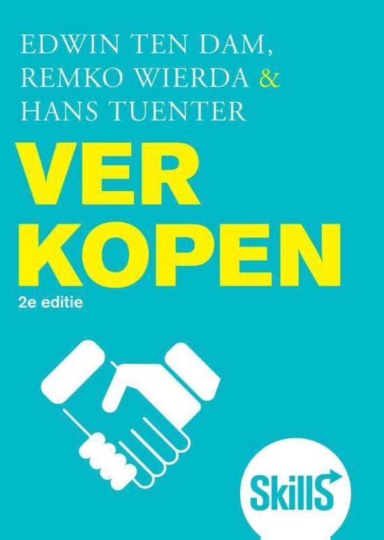 Skills / Verkopen - Edwin ten Dam |