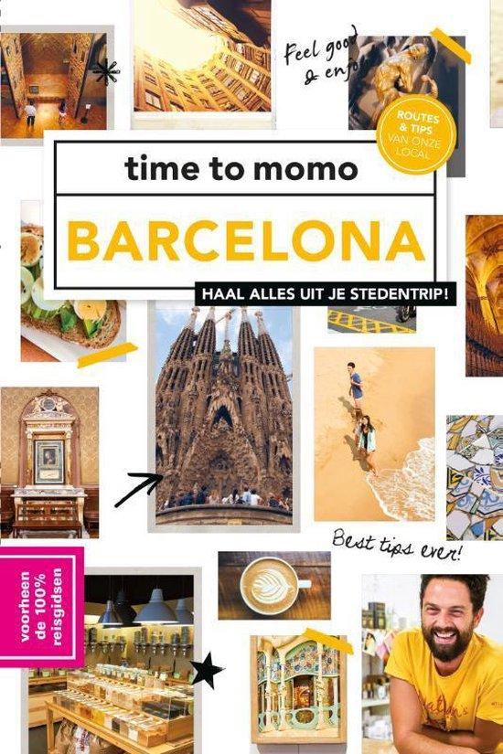 Boek cover Time to momo  -   time to momo Barcelona van Annebeth Vis (Paperback)