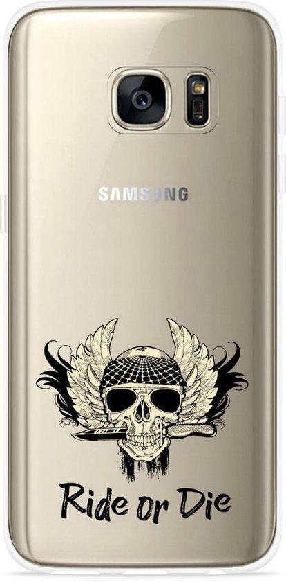 Galaxy S7 Edge Hoesje Ride or Die