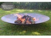 Gofire Adeco Vuurschaal - L - Cortenstaal -  80 cm