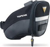 Topeak Aero Wedge Packs Small - Zadeltas - Clip&Clickfix - 0.65 l - Zwart