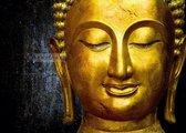 Schilderij - Gouden Boeddha
