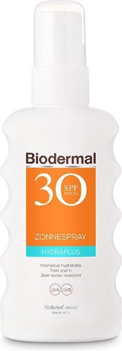 Biodermal Zonnebrand - Hydraplus zonnebrand spray - Zonnespray met SPF 30 - 175ml
