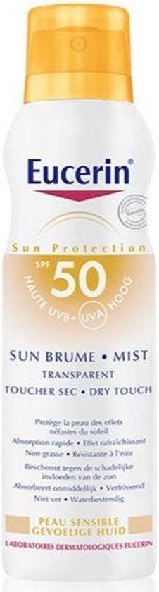 Eucerin Sun Sensitive Protect Spray Transparant SPF50 Zonnebrand - 200 ml