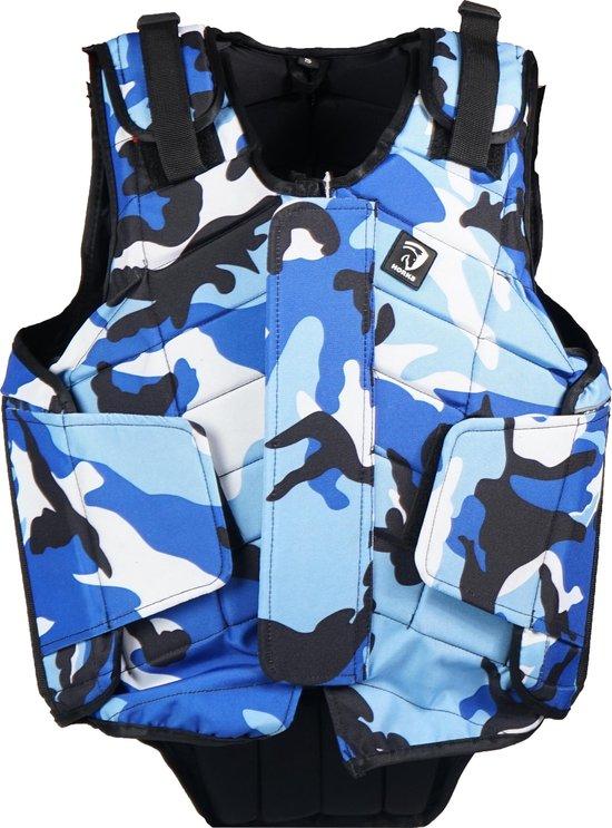 Horka Bodyprotector  Flexplus Army - Blue - l