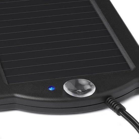 Proplus Druppellader Op Zonne-energie 12 Volt 0,12 Ampère Zwart