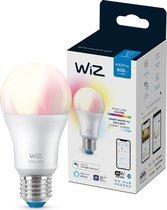 WiZ Lamp Slimme LED Verlichting E27 Lichtbron - Gekleurd en Wit Licht - 60W - Mat - Wi-Fi