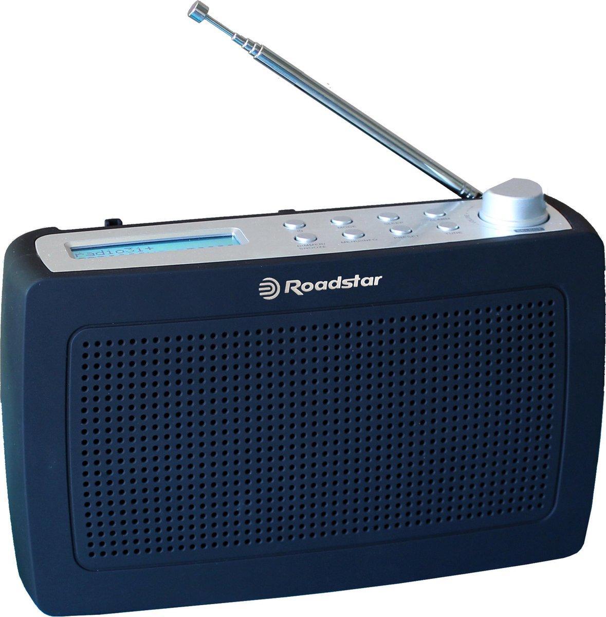 Roadstar TRA-886D+ Portable radio DAB+, FM DAB+, FM Black