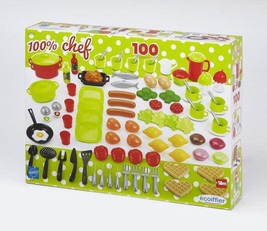 Afbeelding van het spel 100% Chef - 100 Keukenaccessoires