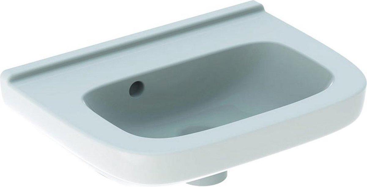 Geberit 300 basic fontein 40 cm zonder kraangat met overloop, wit