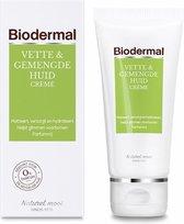 Biodermal Dagcreme Vette & Gemengde Huid - 50ml  - Helpt glimmen voorkomen