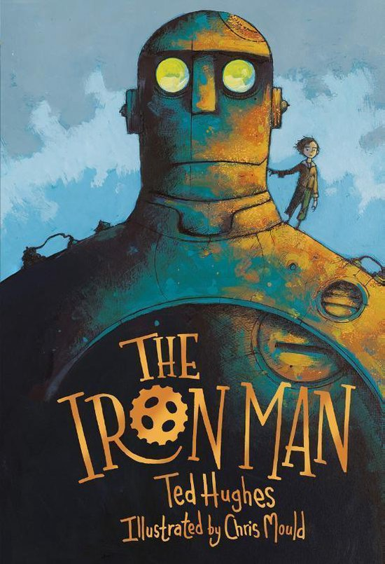 Boek cover The Iron Man van Ted Hughes (Hardcover)