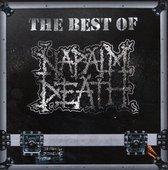 CD cover van Best Of Napalm Death van Napalm Death
