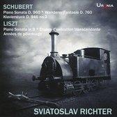 Schubert: Piano Sonata D. 960; Wanderer Fantasie D. 760; Klavierstuck D. 946 no. 2; Liszt: Piano Sonata in B; Etudes d'exécution transcendante; Années de Pèlerinage