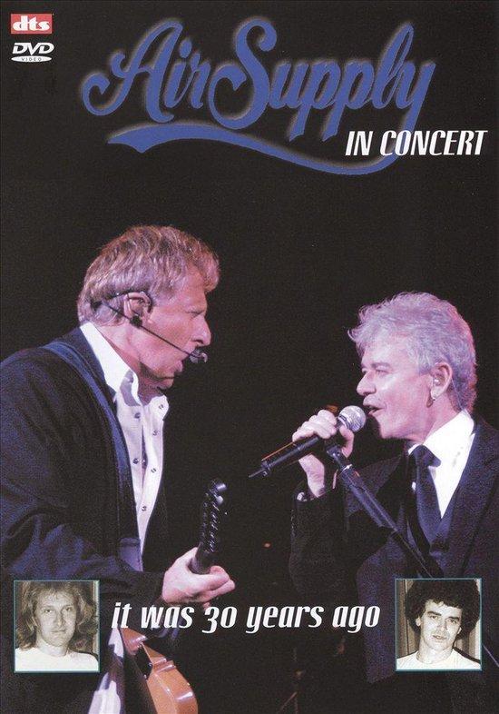 Cover van de film 'Air Supply - In Concert'