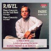 Ravel: Piano Concertos; Faure: Ballade / Lortie, Fruhbeck de Burgos et al