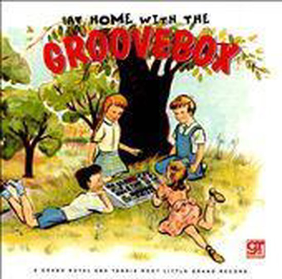 CD cover van At Home With The Groovebox van various artists