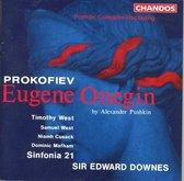Prokofiev: Eugene Onegin / Downes et al