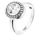 The Jewelry Collection Ring Oxi Zirkonia - Zilver