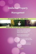 Omslag Intellectual Property Management A Complete Guide - 2021 Edition