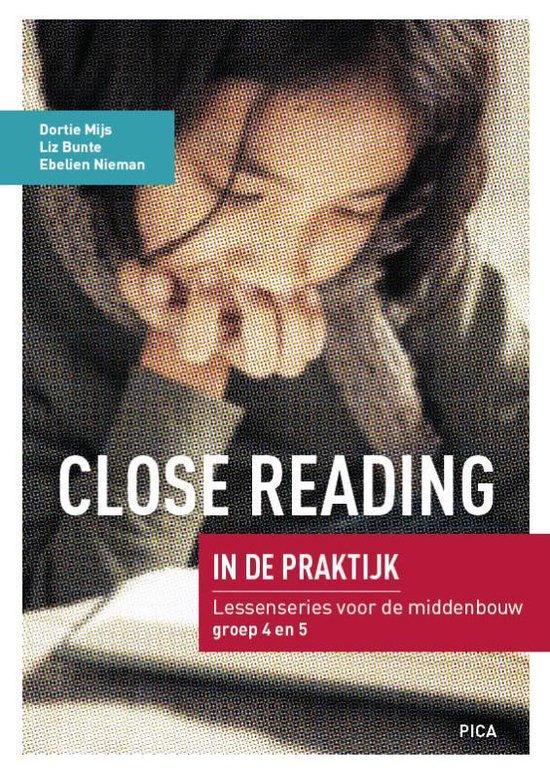 Boek cover Close Reading in de praktijk Middenbouw van Dortie Mijs (Paperback)