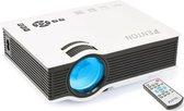 Beamer - Fenton X20 - LED beamer met o.a. HDMI, USB en SD aansluiting voor Home cinema of presentaties