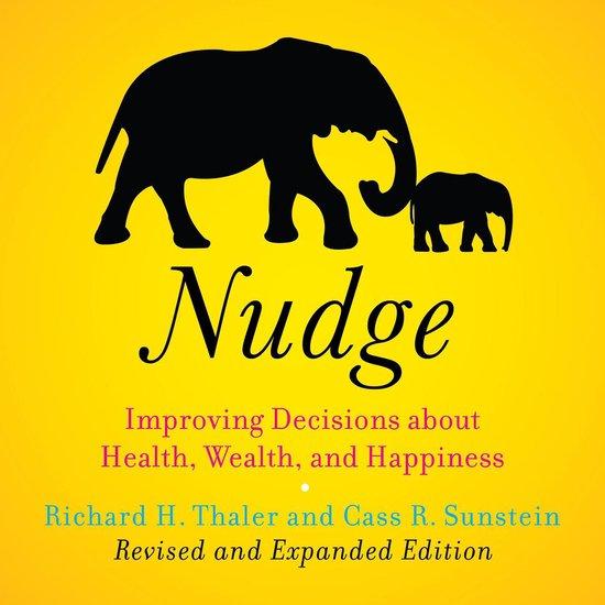 Boek cover Nudge (Revised Edition) van Cass R. Sunstein (Onbekend)