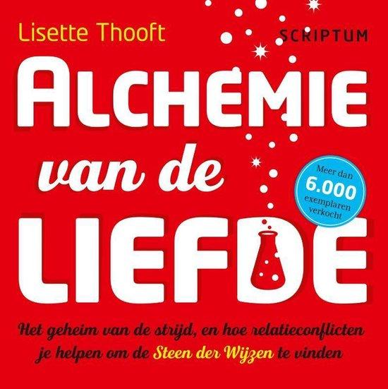 Boek cover Alchemie van de liefde van Lisette Thooft