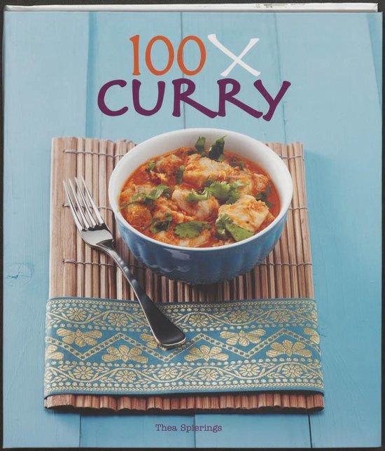 Cover van het boek '100x Curry' van T. Spierings