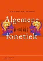 Boek cover Algemene fonetiek van Toni Rietveld (Paperback)