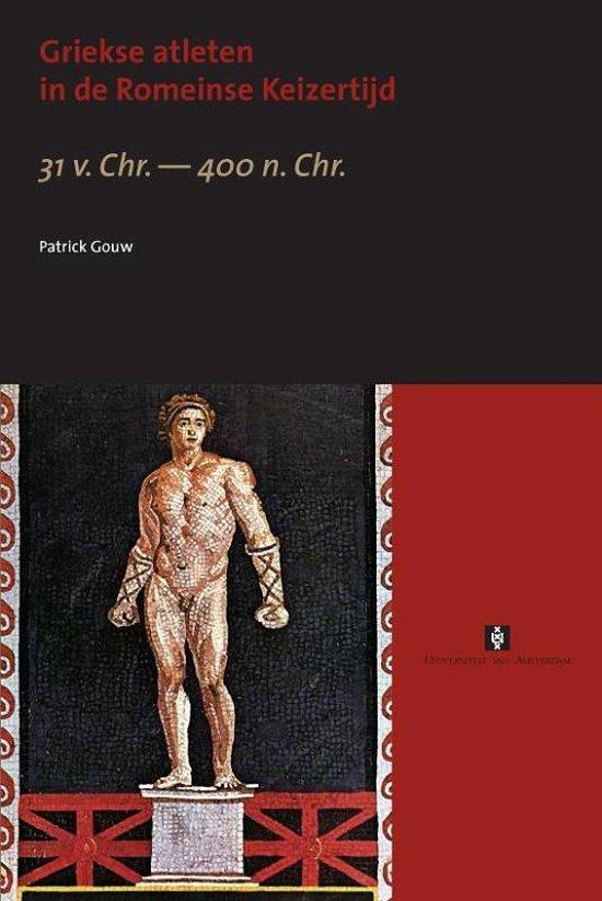 Cover van het boek 'Griekse atleten in de Romeinse Keizertijd / druk 1'