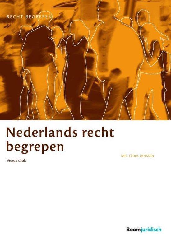Recht begrepen  -   Nederlands recht begrepen - Lydia Janssen