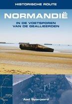 Boek cover Historische route Normandië van Aad Spanjaard (Paperback)