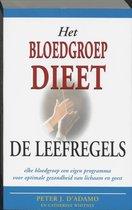 Het bloedgroepdieet - De leefregels