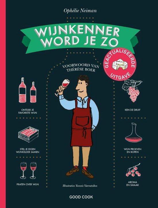 Boek cover Wijnkenner word je zo van Ophélie Neiman (Hardcover)