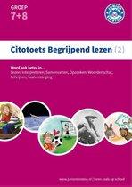 Boek cover Citotoets begrijpend lezen 2; Groep 7 en 8 van