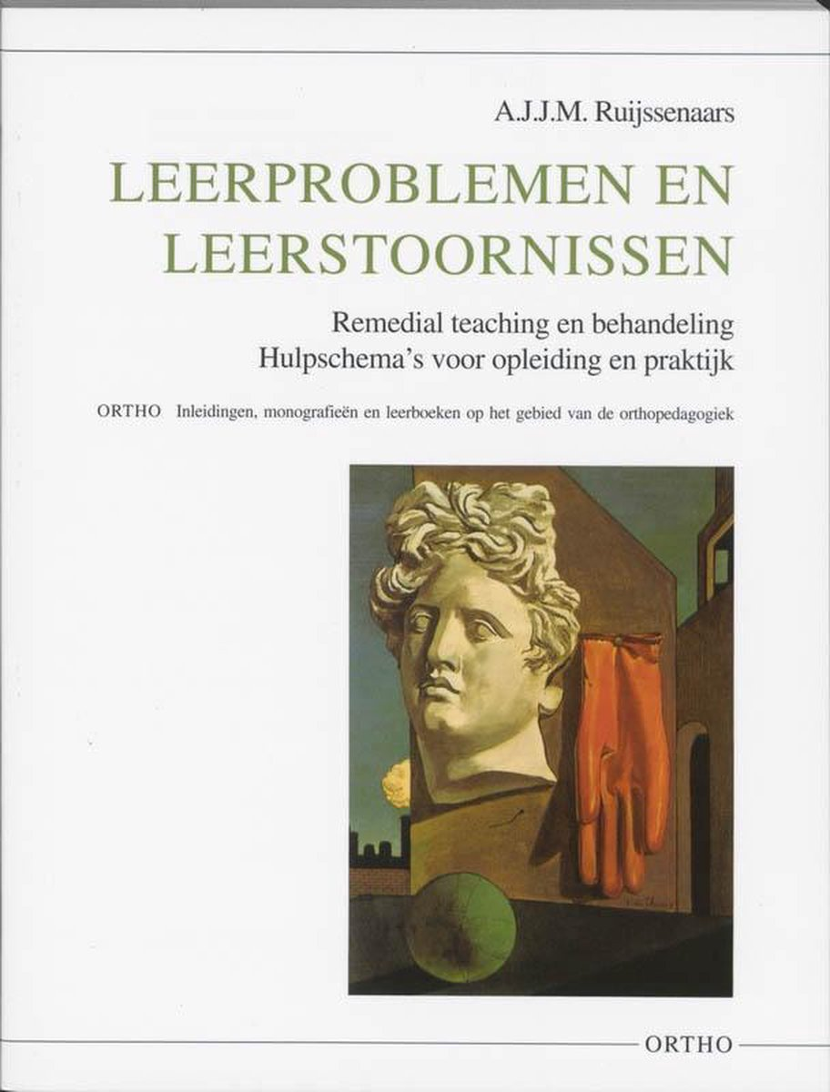 Ortho  -   Leerproblemen en leerstoornissen - A.J.J.M. Ruijssenaars